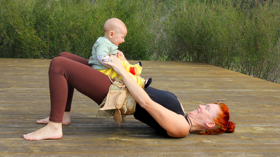 Mummas and Bubbas - Fun Partner Yoga for Mummy and Baby!
