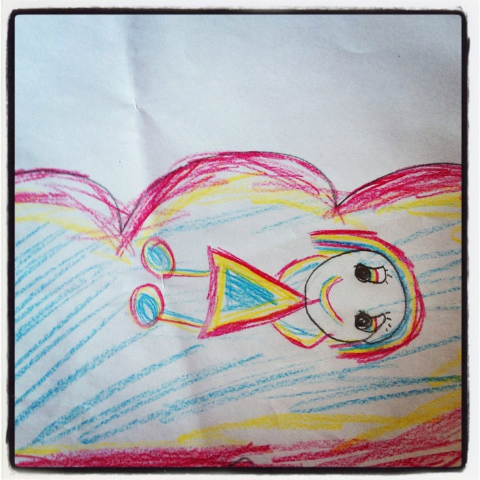 Children's Yoga Journal - Aurora - Aged 7