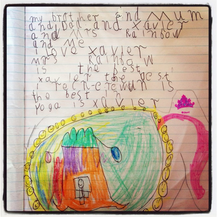 Children's Yoga Journal - Rihanna - Aged 6 - More Gratefulness