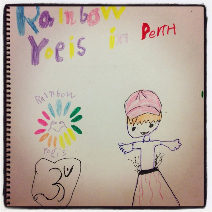 Children's Yoga Journal - Rainbow Yogis in Perth