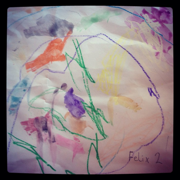 Children's Yoga Journal - Felix - Aged 2