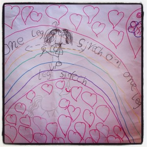 Children's Yoga Journal - Alexia - Aged 5