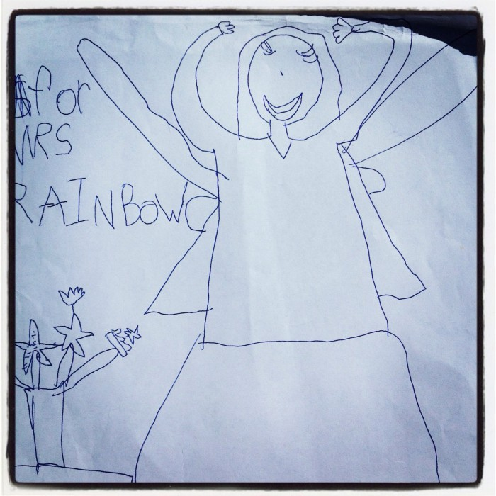 Children's Yoga Journal - Rainbow Pammy