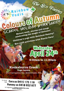 Colours of Autumn - Rainbow Yogis and Eco Faeries