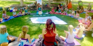 A Rainbow Yogis Workshop in the Park