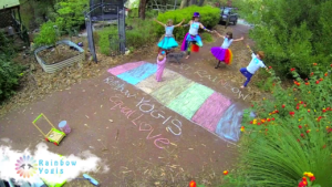Video Screen Capture - DIY Rainbow Crossing - A stand for Equal Love!