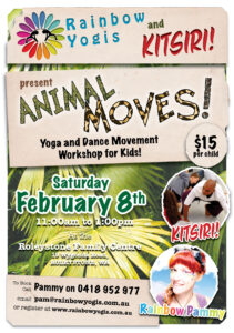 Animal Moves! Animal Yoga and Dance Workshop