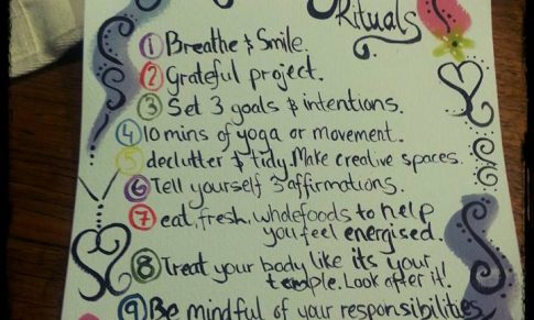 Empowering our kids with morning rituals!