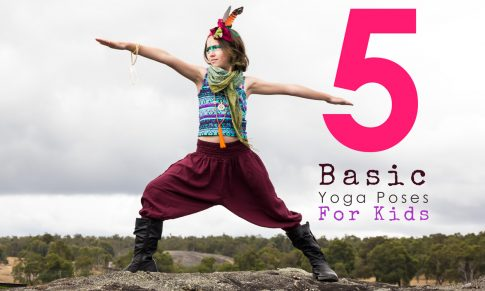 5 Basic Yoga Poses for Kids