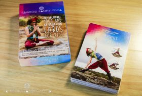 Instructional Yoga And Affirmation Cards For Kids