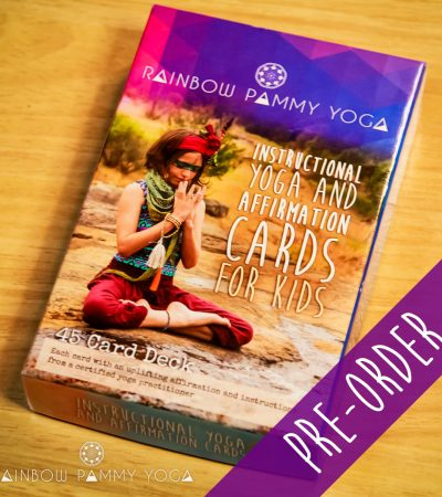 Yoga and Affirmation Cards for Kids - Pre-Order