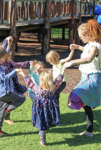 Kids Yoga and Nature art school holiday workshop
