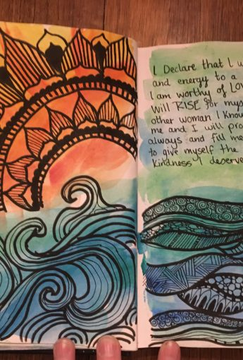 Write Yourself Strong – Art Journal Workshop