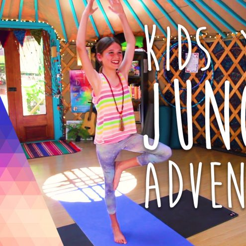 Kids Yoga Jungle Adventure