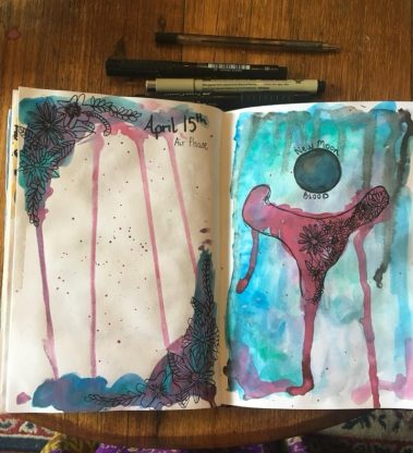 My Elemental Cycles – Art Journal Workshop