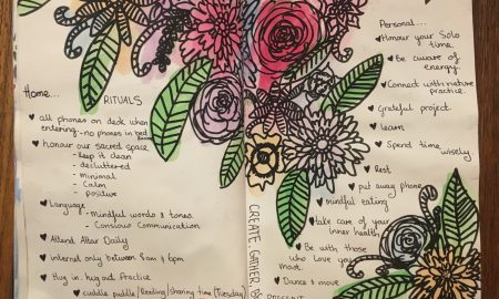 Writing Yourself Strong – Art Journal Workshop