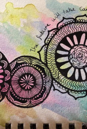 Water Colour Mindful Mandalas workshop
